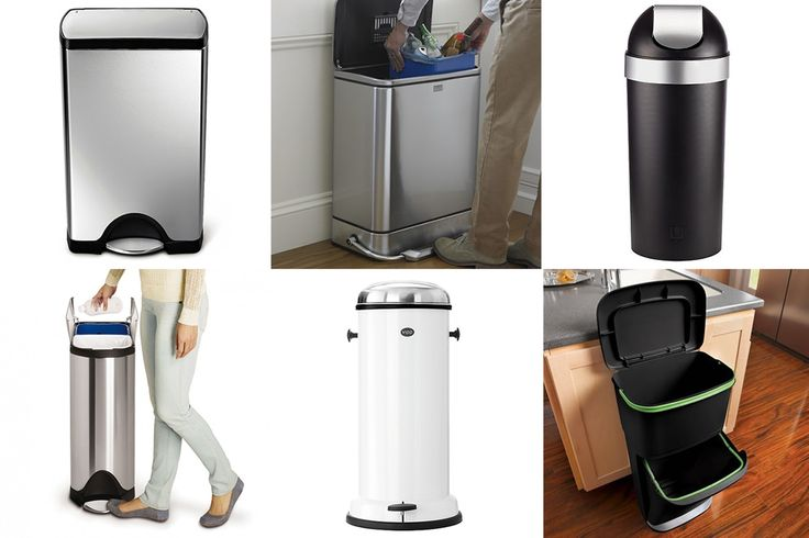 The Best Kitchen Trash Cans: Rubbermaid, Simplehuman, IKEA, Brabantia & More — Annual Guide 2016