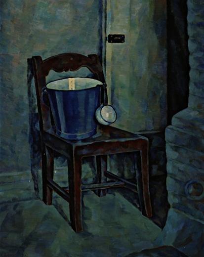 VILHO LAMPI Sininen Ampari (Blue Bucket, 1931)