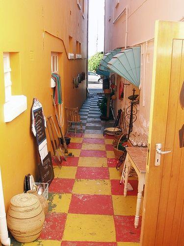 An alley in Kalk Bay