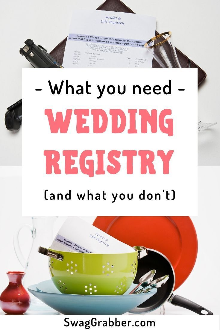Getting Married Wedding Registry Items To Get And What To Skip Swaggrabber In 2020 Target Wedding Registry Wedding Registry Items Wedding Registry Guide