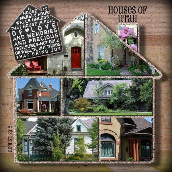 46 best images about scrapbook house moving on pinterest for New home layouts