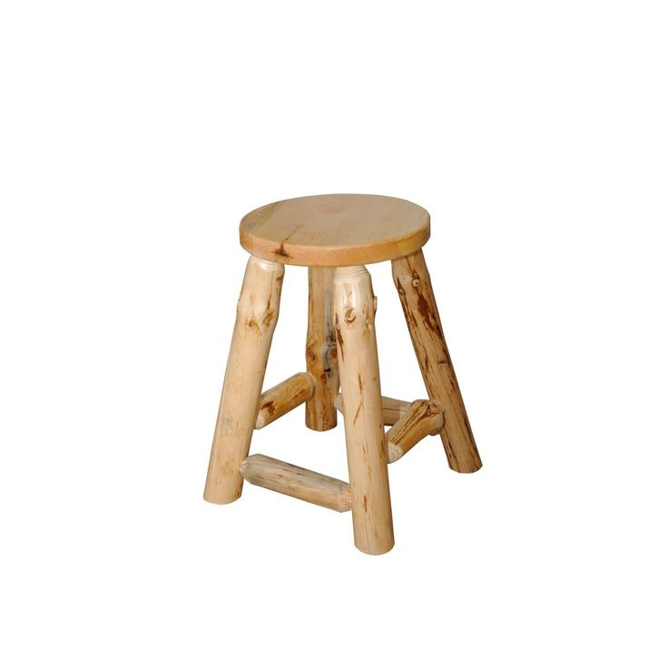 25 Best Ideas About Log Bar Stools On Pinterest Western
