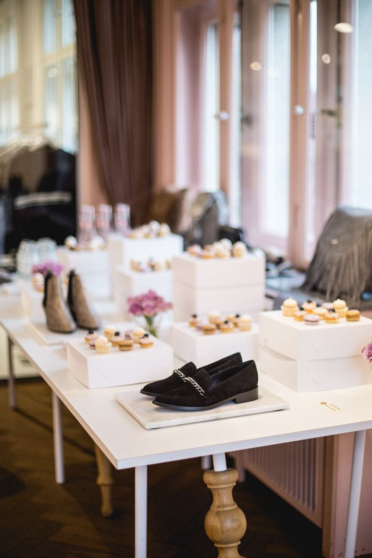 Shoes and cake! What more can you ask for?