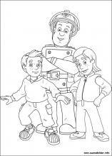 Ausmalbilder Von Feuerwehrmann Sam Zum Drucken Cartoon Coloring Pages Fireman Sam Coloring Pages