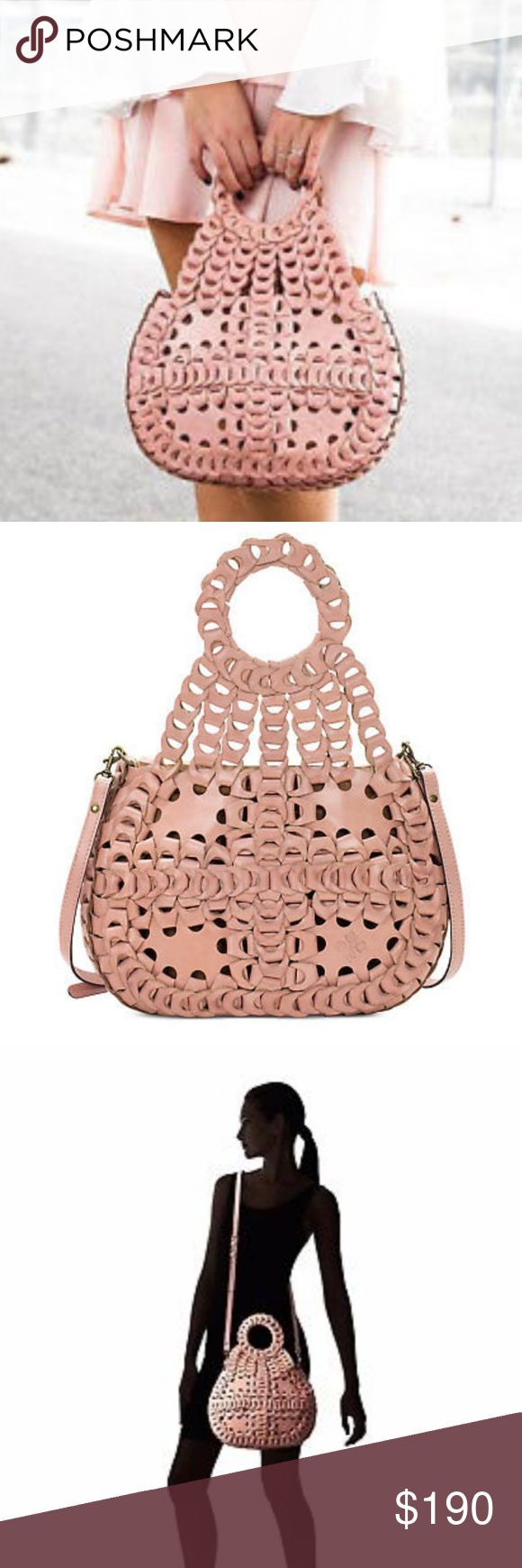 Patricia Nash Chainlink Ticci Blush Leather Bag Authentic Italian Leather Gorgeous bag Never carried New with tags Crossbody strap included Dust bag included  More details to come Patricia Nash Bags Satchels