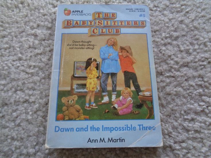 The Baby Sitters Club: Dawn and the Impossible Tree #5 Ann M. Martin