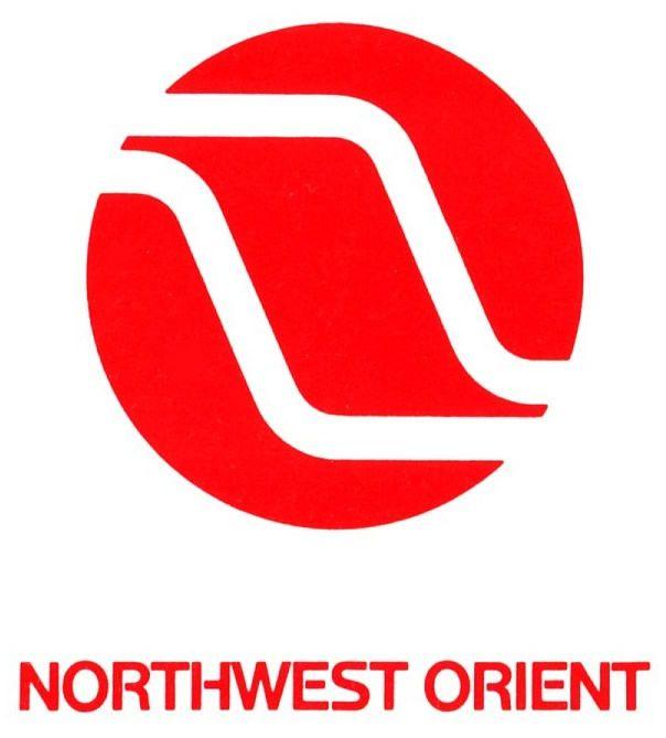 Northwest Orient Airlines Logo | northwest orient airlines vintage logo