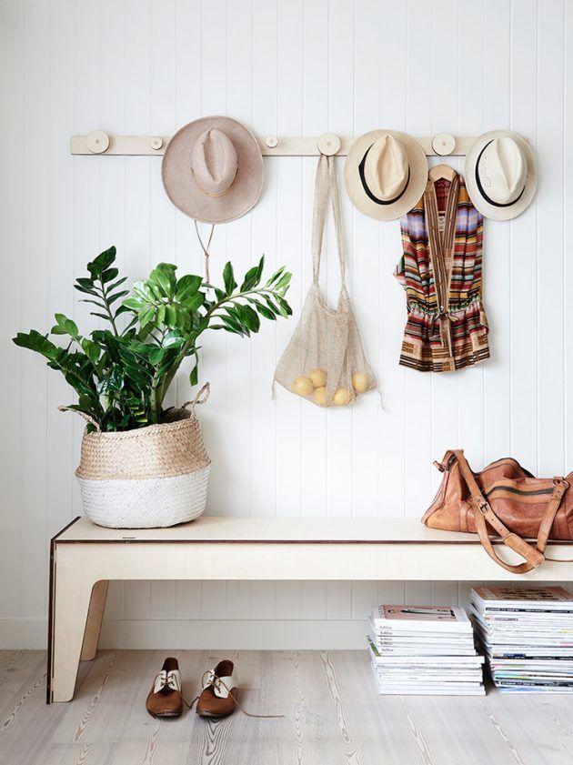 Un cuier simplu va transforma cu totul holul casei tale.