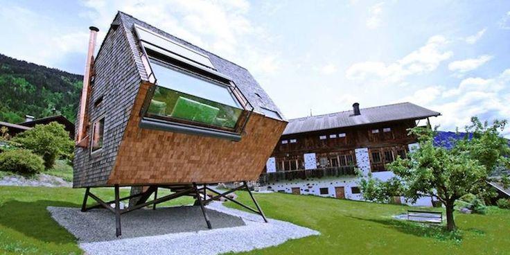 ALPENE: Denne hytta er nok ikke som du tror.