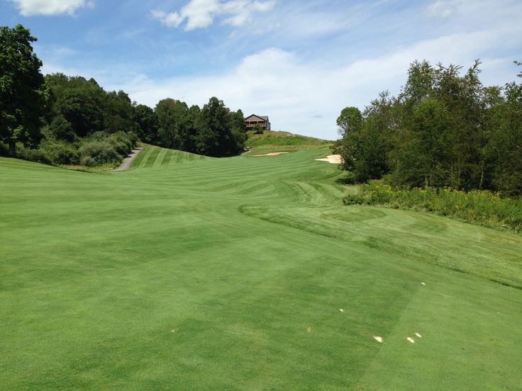 Palmer course at Stonewall Jackson resort, West Virginia.