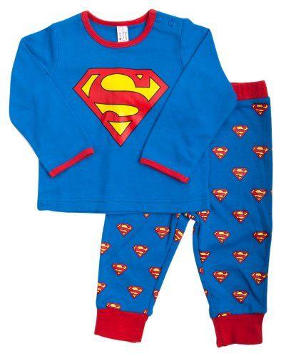 Super Baby - Pijama para bebé, talla 12 - 18 Months - talla inglesa, color Azul