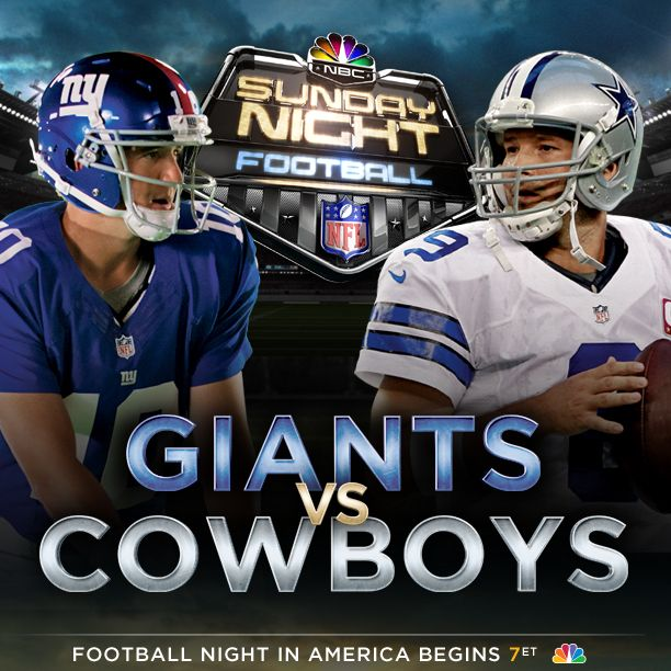 what teams are playing sunday night football tonight