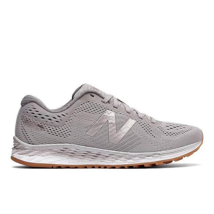 New Balance Fresh Foam Arishi Women's Running Shoes, Size: 9.5, Light Grey, Durable