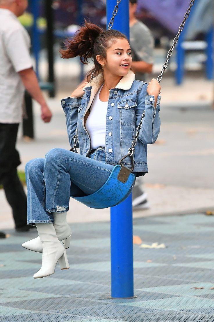 November 2: [More] Selena at the park in Los Angeles, CA [HQs]