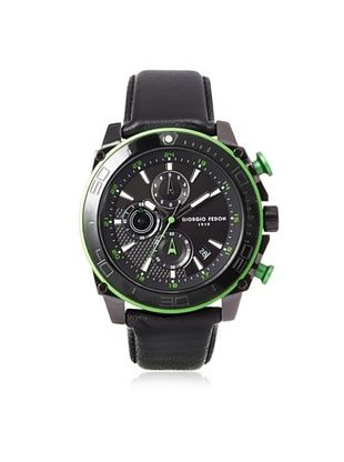 62% OFF Giorgio Fedon 1919 Men's GIOGFBC003 Speed Timer III Black Stainless Steel Watch