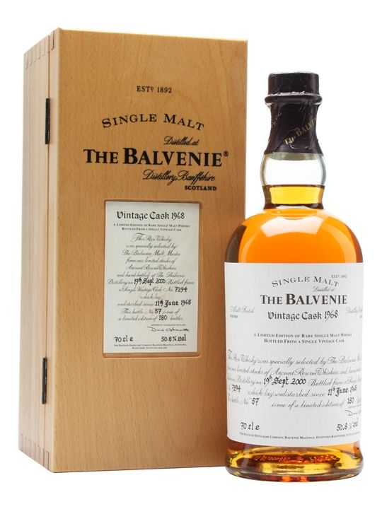Balvenie 1968 / 32 Year Old Scotch Whisky : The Whisky Exchange