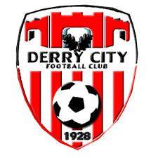 DERRY CITY football club  - DERRY ireland