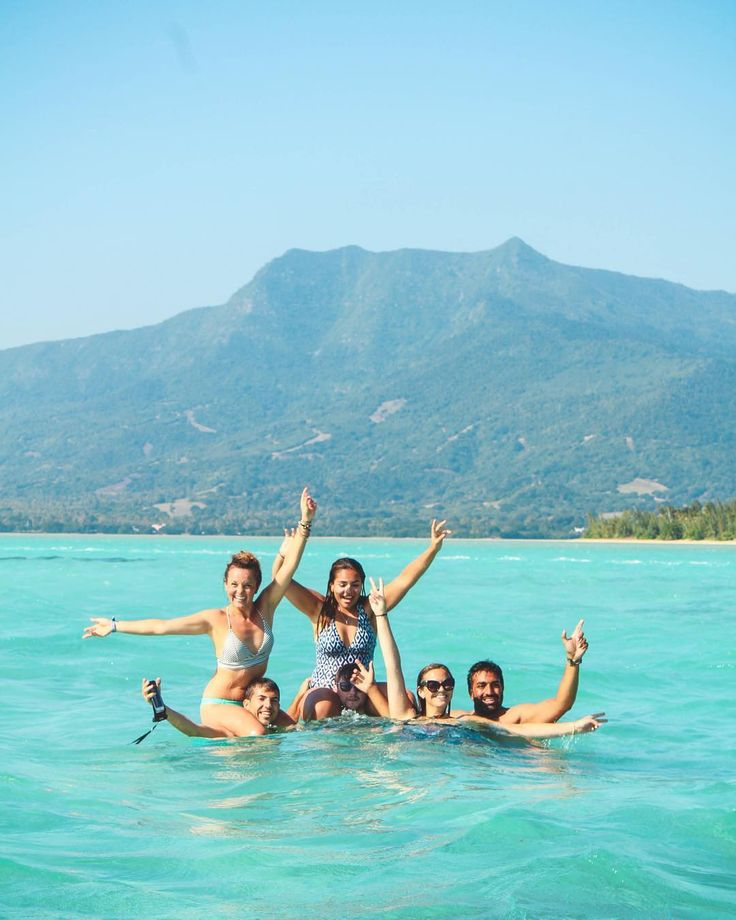 Our annual Mauritius tour is over but even though the group arrived as solo travellers we all left a family   It's been an unforgettable experience with catamaran rides monkeys baby dolphins and costal scooter rides just filling out the average day.  Beautiful people country and experience  #mauritius #instatravel #travelfriends