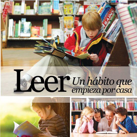 Leer , Un hábito que empieza por casa http://www.inkomoda.com/leer-un-habito-que-empieza-por-casa/