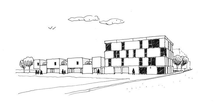 Dijon Concrete Housings,View