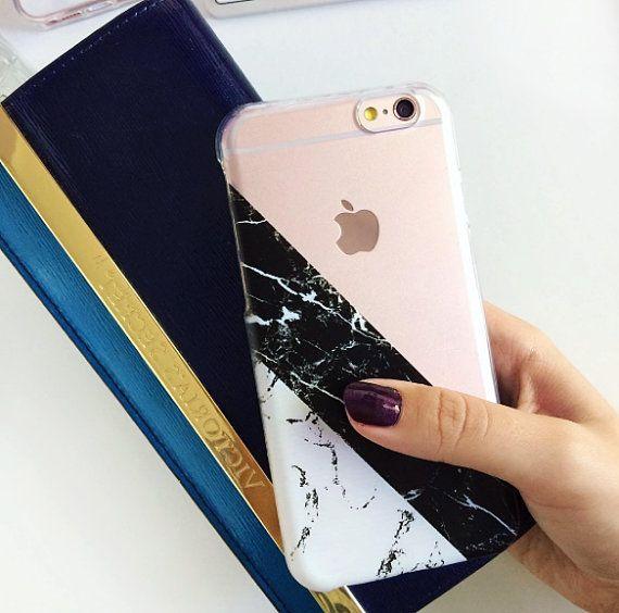 Transparente Marmor Phone Case transparentes Gehäuse von CRCases