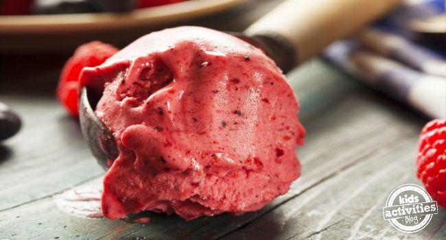 easy berry sorbet recipe