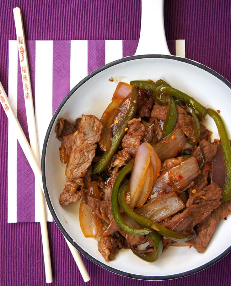 Easy Beef Bulgogi, also going to try making this tonight. :) Then maybe for my little half Korean daughters :)