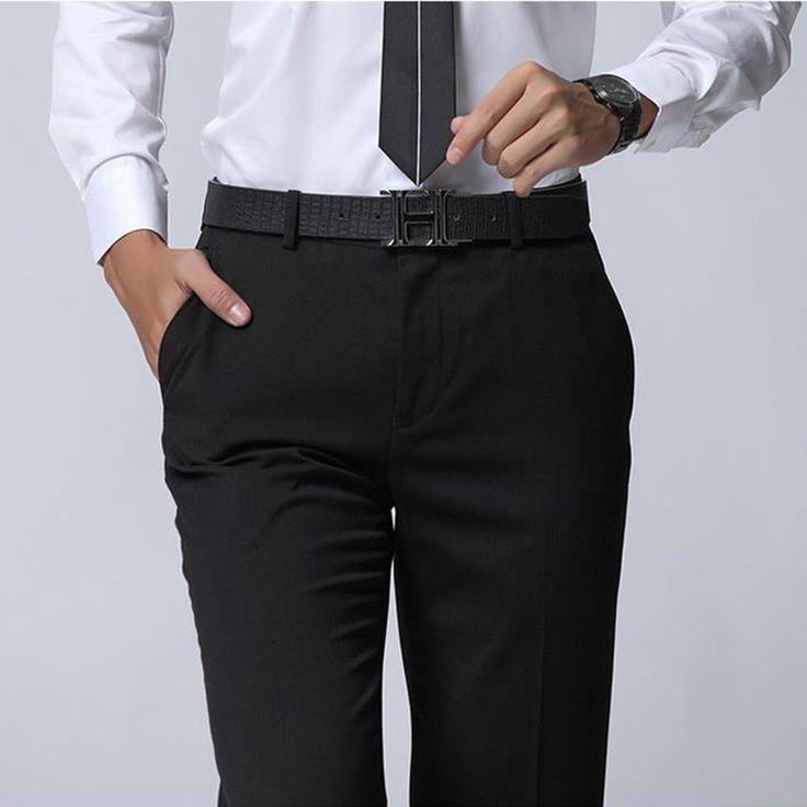High Quality 2016 Brand Clothing Men Pants Casual Trousers Slim Fit Mens Dress Pants Men Trousers Pantalones Hombre Wholesale