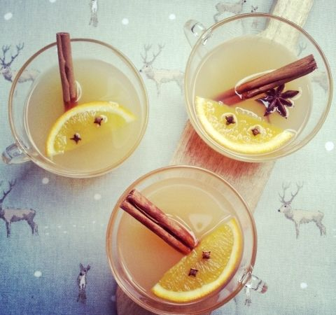 Warme Winter-Appelsap   net even anders dan glühwein - Suikervrij, zuivelvrij & glutenvrij - zoet & roze