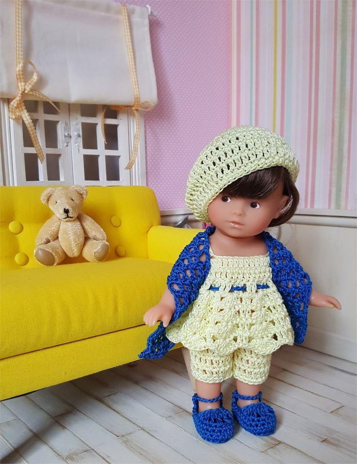 123- FICHE PATRON CROCHET Ensemble Inaya pour poupée mini corolline : Jeux, jouets par atelier-crochet