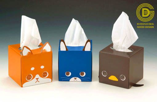ROCKETS DESIGN WORKS cute tissue boxes PD