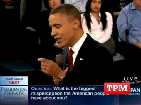 Obama Blasts Romney On '47 Percent' In Final Question Of Town Hall Debate