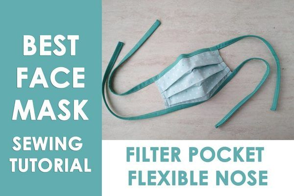 Best Diy Cloth Face Mask Adjustable Ties Filter Pocket And