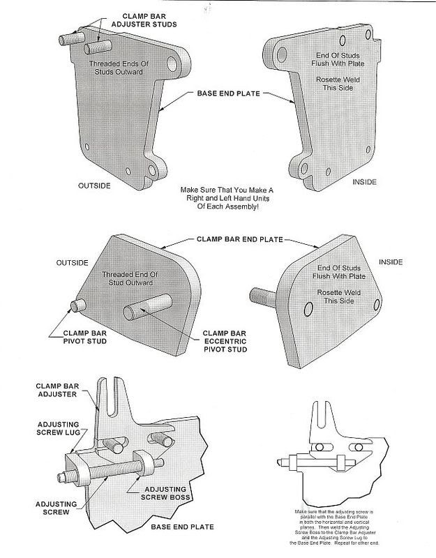 sheet metal bender plans. sheet metal brake bender plans