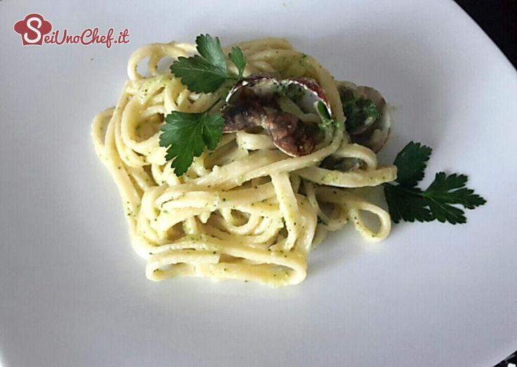 Scialatielli con vongole e broccoletti - chef manuela