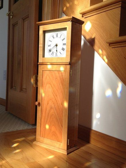 shaker grandfather clock plans woodworking projects plans