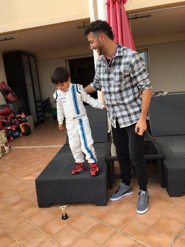 Felipinho and Daniel Ricciardo