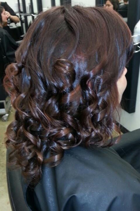 Curls using GHD