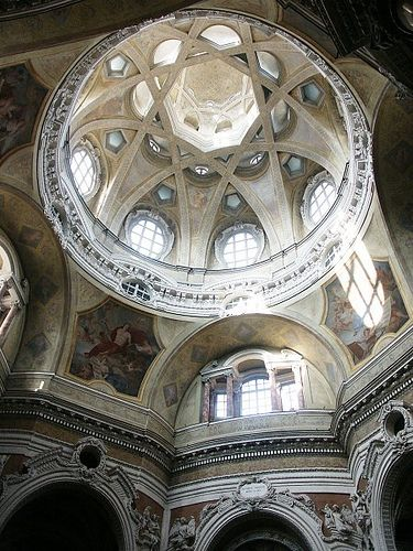 San_Lorenzo_GuarinoGuarini, Turin, 1668-80, province of Turin, Piemonte region Italy