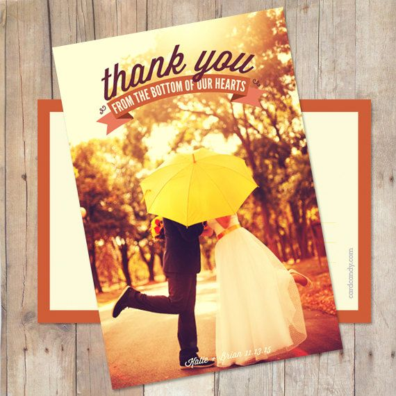 Wedding Thank You Postcard Wedding Thank You by cardcandydotcom, $15.00