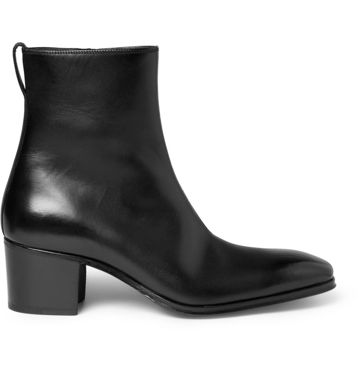 Yves Saint Laurent Johnny Leather Ankle Boots | The most perfect ...