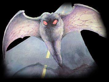 El hombre polilla (Mothman) fue protagonista de decenas de episodios de encuentros terrorificos.
