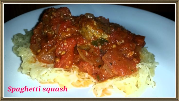 From Mess Hall to Bistro: Spaghetti Squash and Meatballs