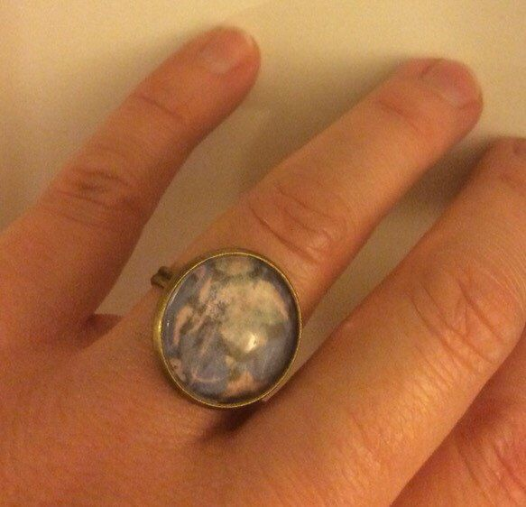A personal favourite from my Etsy shop https://www.etsy.com/uk/listing/261971549/adjustable-floral-ring