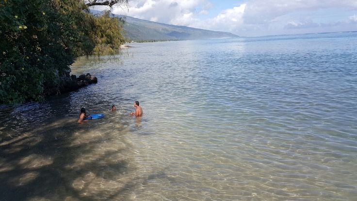 Take a  brake in the Lagoon with Hinano