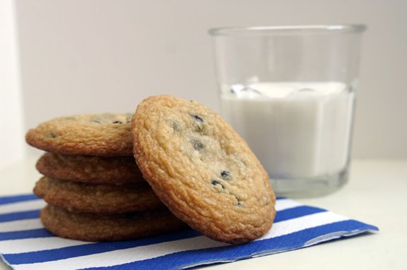 Momofuku Milk Bar's blueberries and cream cookie. I've wanted to make...