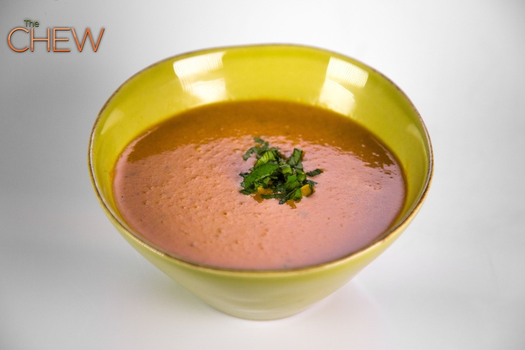 Clinton Kelly's Cream of Tomato Soup recipe #thechew