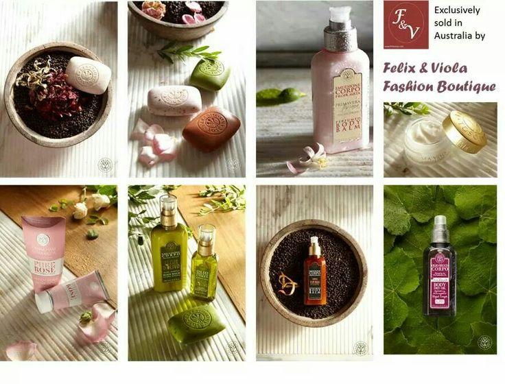 www.felixviola.com Beautiful skin is simple with Erbario Toscano