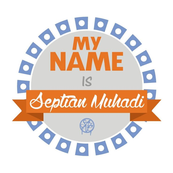 Hello my name is Septian Muhadi