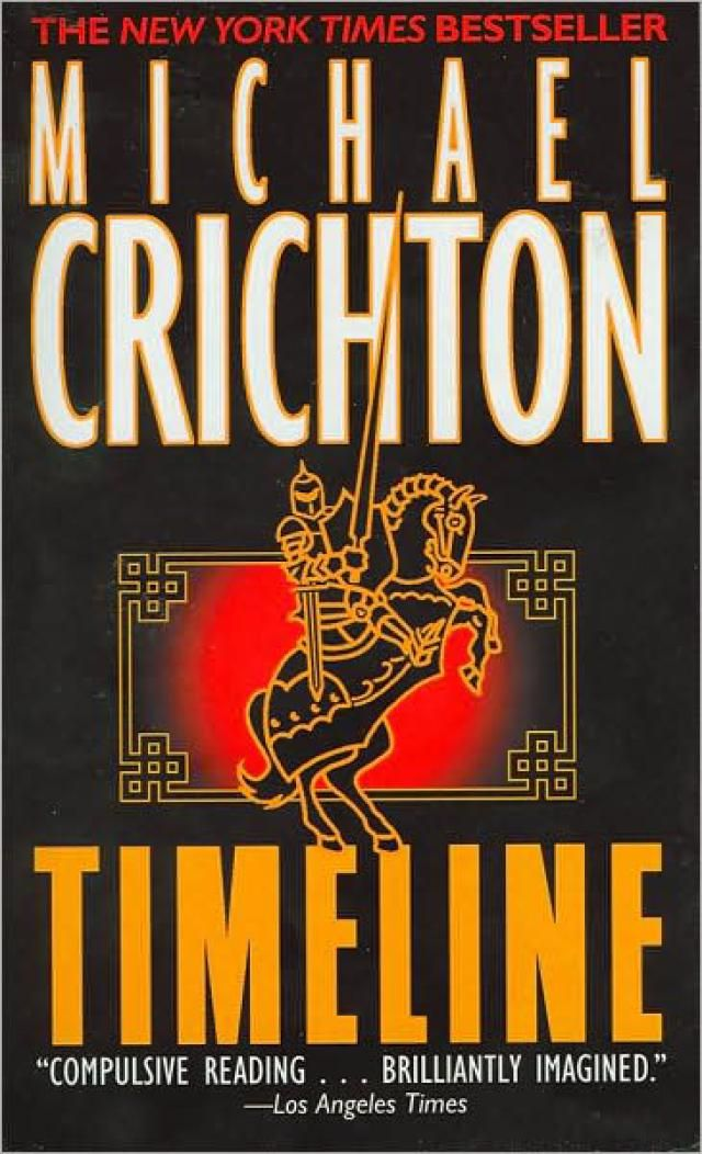 Timeline Michael Crichton | Timeline' by Michael Crichton